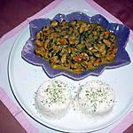 recette Timbale de moules et son riz persillé