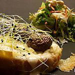 recette Tartine roblochon, champignons, un plat en 10min