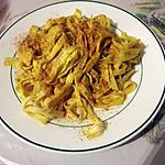 recette Tagliatelles au curry
