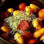 recette Gnocchis croustillants au chorizo
