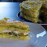 recette Gâteau de pomme de terre au chou vert et cabillaud