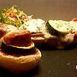 recette Baguette comme une pizza , un plat express