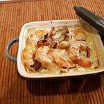 recette Cassolette de crevettes aux légumes et aux épices