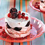 recette Tiramisu aux fruits rouges