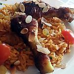 recette Machbous au poulet - plat national koweïtien