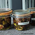 recette Champignons en bocal