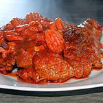 recette Jarret de boeuf à la sauce tomate