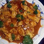 recette Filets de poulet au curry de madras