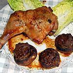 recette Cuisses de poulet farcies du blog cccuisine.over-blog.com