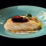 recette Dos de cabillaud rôti, purée fine de chou fleur