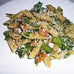 recette Pennes ou macaronis aux brocolis,anchois et noix