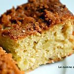 recette Carré moelleux aux pommes et spéculoos