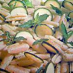 recette Méli mélo de gnocchis et courgettes
