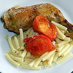 recette Cuisses de poulet aux herbes et tomates