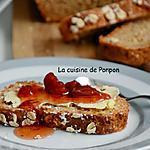 recette Pain irlandais au yaourt et flocons d'avoine, sans levure!
