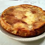 recette Gâteau pommes amande citron