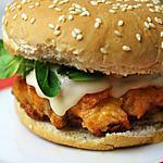 recette Hamburger au Saumon