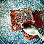 recette Brownie framboises/chocolat blanc