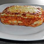 recette Lasagne sauce bolognaise