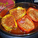 recette Poivrons au quinoa