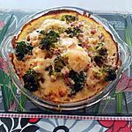 recette Mon   gratin  de   légumes   .... lardons ....  Qui  ...  Rit  !