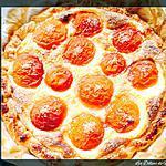 recette Tarte aux Abricots (pâte feuilleté)