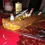 recette Bûche roulé au mascarpone crème de marron