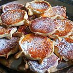 recette Pardulas a la ricotta citron et Safran