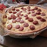 recette Quiche à la choucroute et saucisse