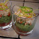 recette Verrines fraîcheur