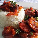 recette Rougaille saucisse (Île Maurice)