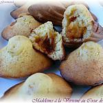 recette Madeleines Verveine Coeur de Caramel