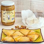 recette Briks au chèvre, noix et miel