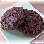 recette Cookies Doublement Chocolat