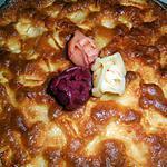 recette Gateau aux pommes et calvados