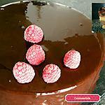 recette Bavarois chocolat framboises