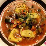 recette Minestrone aux Tortellonis