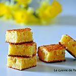 recette Carré fondant au chocolat blanc et lait concentré sucré