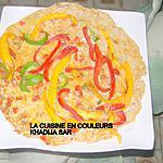 recette Omelette pizza à ma façon