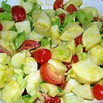 recette Salade de pommes de terre au céleri, aux tomates et à la ciboulette