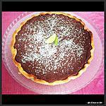 recette Tarte Choco-Coco et Citron Vert