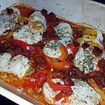 recette Dos de cabillaud au four poivrons chorizo