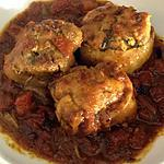 recette Paupiettes de poulet au curry