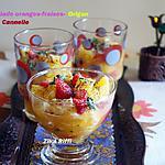 recette SALADE DE FRUITS A L'ORIGAN / CANNELLE ET MENTHE SÉCHÉE