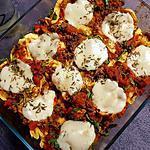 recette Gratiné de tortellinis à l'italienne