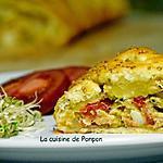 recette Feuilleté tressé au thon, olives et épices