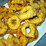 recette Anneaux de calamar