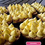 recette Tarte coco , citron jaune et vert façile