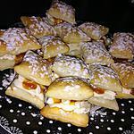 recette Feuilletés mascarpone caramel