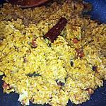 recette Riz grillé aux épices et chorizo